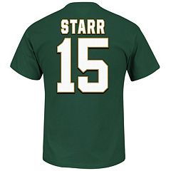 Big & Tall Majestic Green Bay Packers Bart Starr Hall of Fame Eligible Receiver Tee