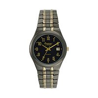 Precision by Gruen Men's Two Tone Watch