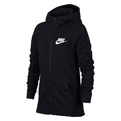 Boys 8-20 Nike Jersey Full-Zip Hoodie