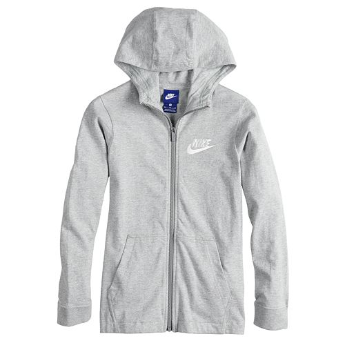 Boys 8-20 Nike Solid Full-Zip Hoodie