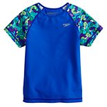 Girls 7-16 Speedo Printed Rashguard