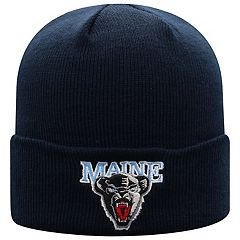 Adult Top of the World Maine Black Bears Tow Knit Beanie