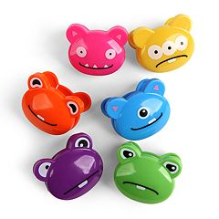 Kikkerland 6-pack Monster Bag Clips