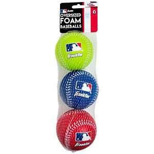 Franklin Oversized Foam Baseballs 3-Pack