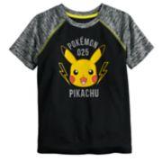 Boys 4-12 Jumping Beans® Pokemon Pikachu Raglan Active Tee