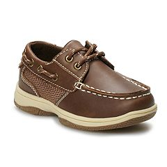 Jumping Beans Traditional Toddler Boys' Boat Shoes