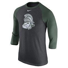 Men's Nike Michigan State Spartans Raglan Tee