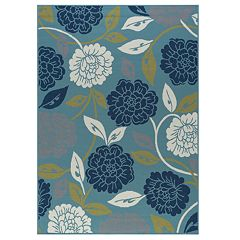 KHL Rugs Peony Floral Rug