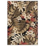 KHL Rugs Carribe Floral Indoor Rug
