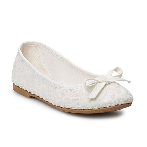 SO® Gardener Girls' Ballet Flats