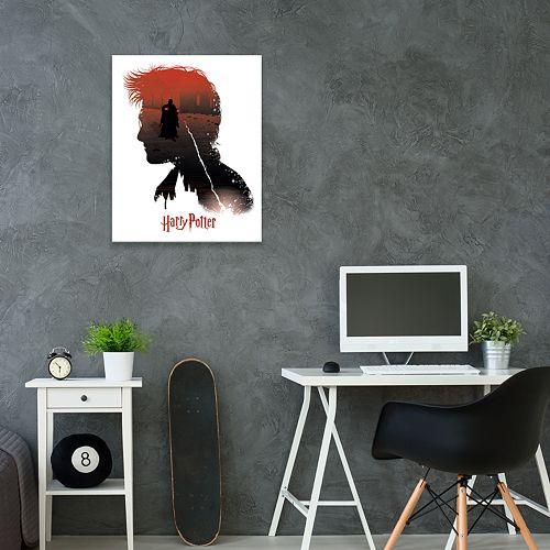 Artissimo Harry Potter Bright Nightmare Canvas Wall Art
