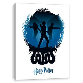 Artissimo Harry Potter Three Friends Canvas Wall Art