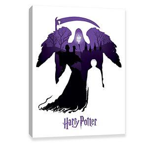 Artissimo Harry Potter Deaths Duel Canvas Wall Art