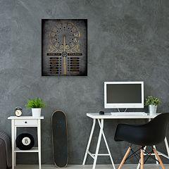 Artissimo Harry Potter Spells & Charms List Canvas Wall Art
