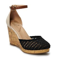 6079f57b8e61 Apt. 9® Jacques Women s Ankle Strap Wedge Sandals