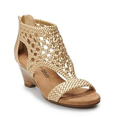 Croft & Barrow® Woven Women's Wedge Sandals