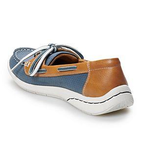 Croft & Barrow® Steeple Women's Ortholite Boat Shoes
