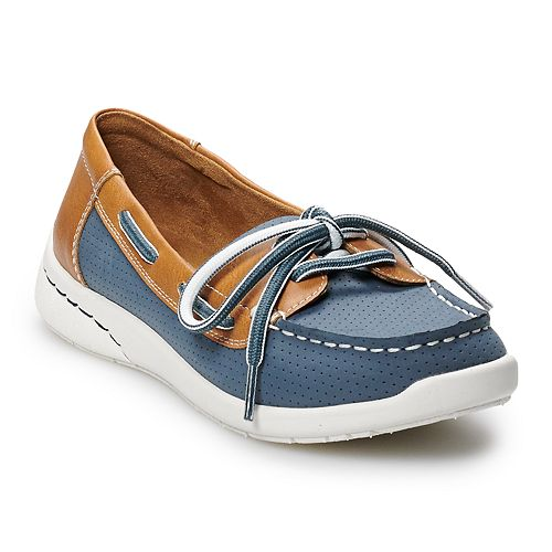 Croft & Barrow® Steeple Women's Ortholite Boat Shoes