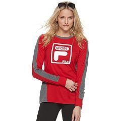 Women's FILA SPORT® Pieced Long Sleeve Tee