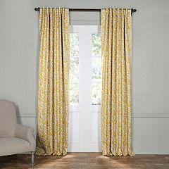 EFF Abstract Lunar Blackout Window Curtain