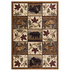 KHL Rugs Portrait Wildlife Area Rug