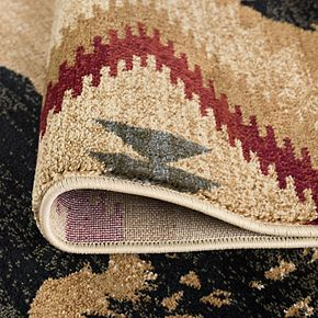 KHL Rugs Colorblock Wildlife Area Rug