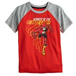 "Boys 4-12 Jumping Beans® The Flash ""Always In The Fast Lane"" Raglan Active Tee"