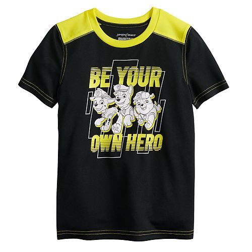 "Boys 4-12 Jumping Beans® Paw Patrol ""Be Your Own Hero"" Active Tee"