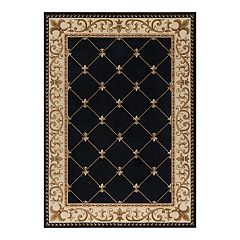KHL Rugs Orleans Border Area Rug