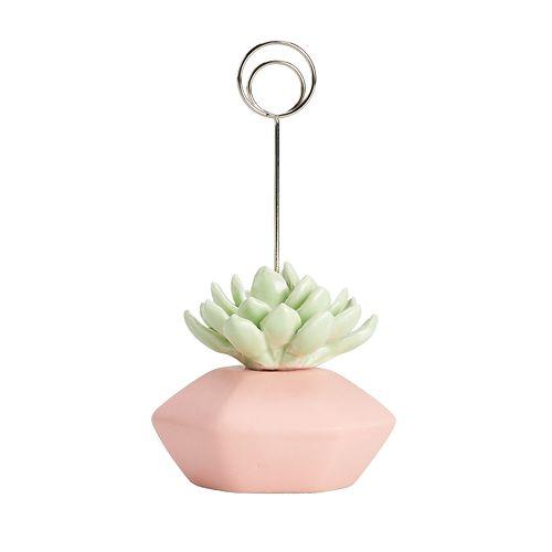 LC Lauren Conrad Ceramic Succulent Photo Clip