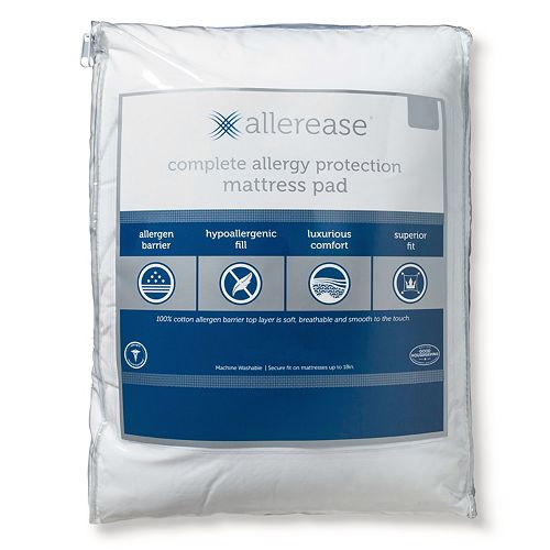 AllerEase Allergy Protection Mattress Pad