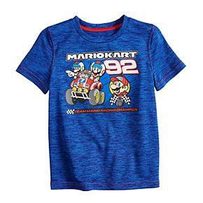 "Boys 4-12 Jumping Beans® Super Mario Cart ""92"" Active Tee"