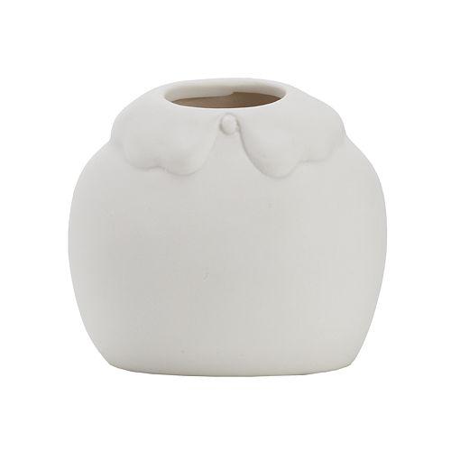 LC Lauren Conrad Bisque Shirt Vase