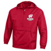 Men's Wisconsin Badgers Packable Jacket