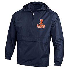 Men's Illinois Fighting Illini Packable Jacket