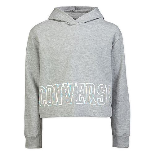 9560ce40c Girls 7-16 Converse Cropped Pullover Hoodie