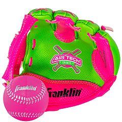 Franklin 8.5' Air Tech Adapt Baseball Glove & Ball Set