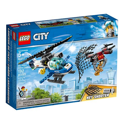 LEGO City Police Drone Chase 60207