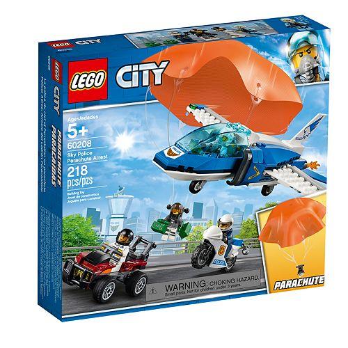 LEGO City Police Parachute Arrest 60208