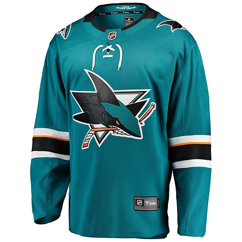 Men's Fanatics San Jose Sharks Jersey