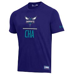 Men's Under Armour Charlotte Hornets Lock Up Tee