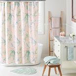 LC Lauren Conrad Palms Shower Curtain