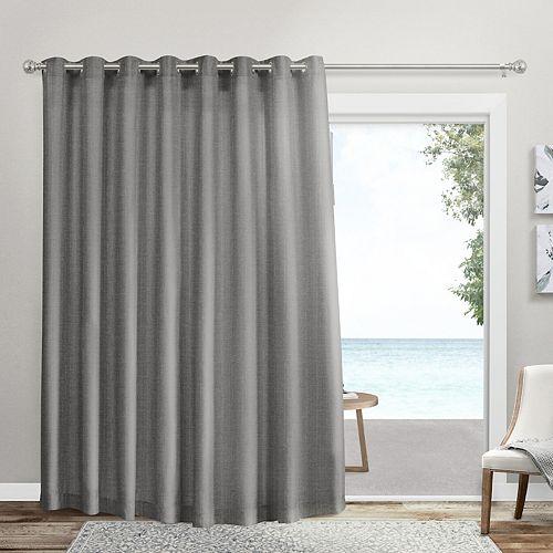 Exclusive Home 1-panel Loha Patio Grommet Top Window Curtain