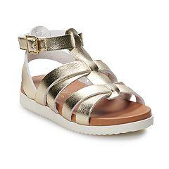 Touch of Nina Altea Girls' Slingback Gladiator Sandals