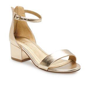 Touch of Nina Keyna Girls' Peep Toe Dress Sandals