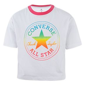 Girls 7-16 Converse Rainbow Chuck Patch T-Shirt