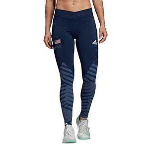 Women's adidas USA Volleyball Long High-Waisted Leggings