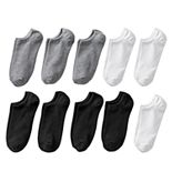 Women's SONOMA Goods for Life® 10-Pack No-Show Novelty Socks