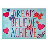 Nickelodeon JoJo Siwa Dream Believe Achieve Rug