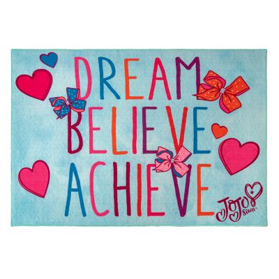 Nickelodeon JoJo Siwa Dream Believe Achieve Rug